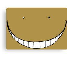 Koro-Sensei Strange Smile Canvas Print
