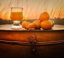 Mandarine Sunset by Julie Begg