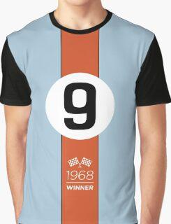1968 Race Winner #9 Racing livery Graphic T-Shirt
