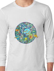 Fish Party Long Sleeve T-Shirt
