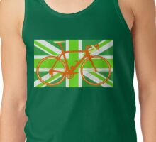 Bike Flag United Kingdom (Green) (Big - Highlight) Tank Top