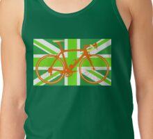 Bike Flag United Kingdom (Green) (Big - Highlight) Tank Top