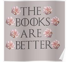 The Books Are Better Poster