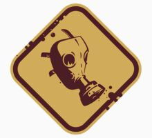 Gas Mask Warning by artpolitic