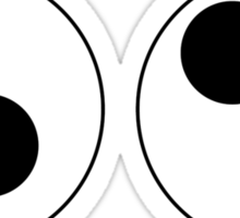 Googly eyes Sticker