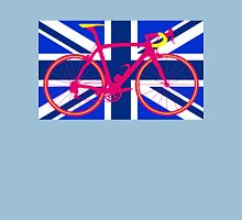 Bike Flag United Kingdom (Blue) (Big - Highlight) T-Shirt