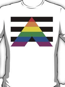ALLY PRIDE FLAG T-Shirt