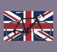 Bike Flag United Kingdom (Big - Highlight) Kids Clothes