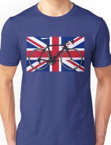 Bike Flag United Kingdom (Big - Highlight) Unisex T-Shirt
