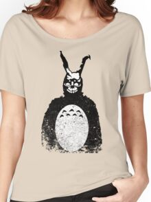 Donnie Darko Totoro Mash Up Women's Relaxed Fit T-Shirt