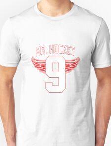 Mr. Hockey - Gordie Howe Unisex T-Shirt