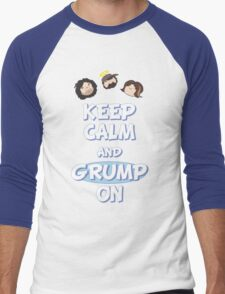 Game Grumps - Keep Calm And Grump On Men's Baseball ¾ T-Shirt