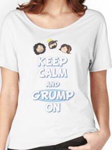 Game Grumps - Keep Calm And Grump On Women's Relaxed Fit T-Shirt