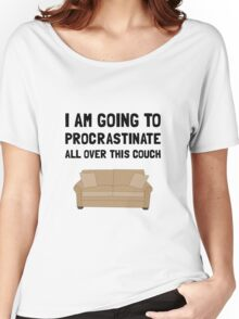 Procrastinate Couch Women's Relaxed Fit T-Shirt