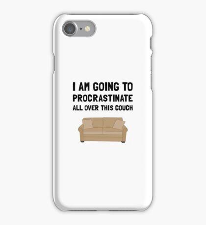 Procrastinate Couch iPhone Case/Skin