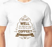 Flirting 101 with Officer Haught (01) Unisex T-Shirt