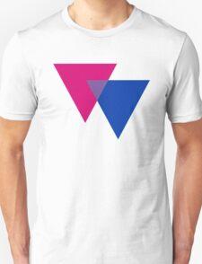BISEXUAL TRIANGLE SYMBOLS T-Shirt