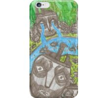 Jungle paper iPhone Case/Skin