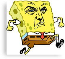 Frank Castle Spongebob Canvas Print