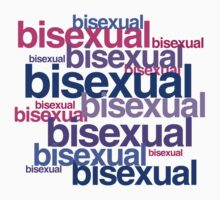 BISEXUAL TYPOGRAPHY by lgbtdesigns