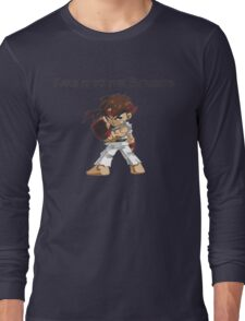 Street Fighter Ryu Take It To The Streets Long Sleeve T-Shirt