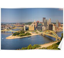 The Pittsburgh Point Poster