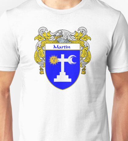 Martin Coat of Arms/Family Crest Unisex T-Shirt