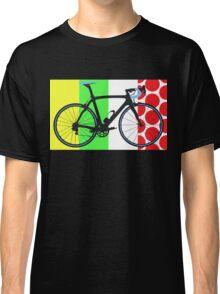Bike Tour de France Jerseys (Vertical) (Big - Highlight)  Classic T-Shirt