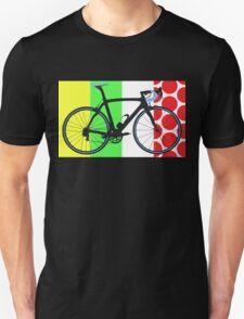Bike Tour de France Jerseys (Vertical) (Big - Highlight)  Unisex T-Shirt