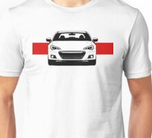 ZC6 Front end with red stripe Unisex T-Shirt