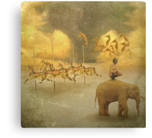 The world is Insane Canvas Print