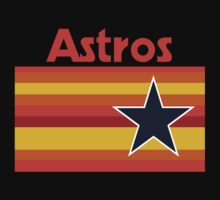 Houston Astros Rainbow by Lopers
