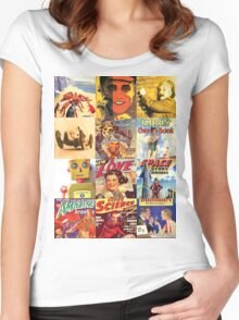 Magazine life Its Groovy baby Women's Fitted Scoop T-Shirt