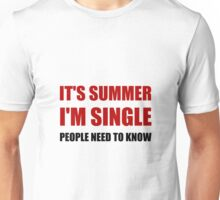 Summer Single Unisex T-Shirt
