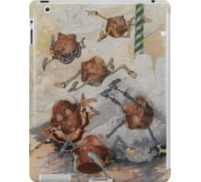 John R. Neill - Personified Muffins Tumbling Out Of Steam. Child portrait: cute baby, kid, children, pretty angel, child, kids, lovely family, boys and girls, boy and girl, mom mammy mam, childhood iPad Case/Skin