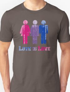 BISEXUAL LOVE IS LOVE T-Shirt