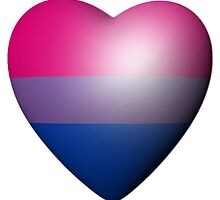 BISEXUAL HEART by lgbtdesigns