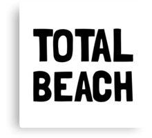 Total Beach Canvas Print