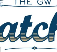 GWU Hatchet Sticker