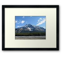 Mountain, Jasper National Park, Canada Framed Print