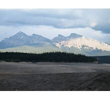 Mountain, Jasper National Park, Canada Photographic Print