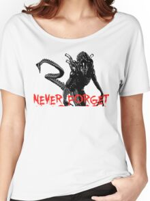 """NEW* ALIEN: ISOLATION MERCHANDISE... """"NEVER FORGET YEAR 2137"""" Women's Relaxed Fit T-Shirt"""