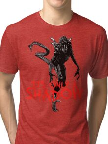 """NEW* ALIEN: ISOLATION MERCHANDISE... """"ITS ONLY A SHADOW"""" Tri-blend T-Shirt"""