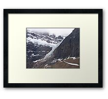 Mountains, Jasper National Park, Canada Framed Print