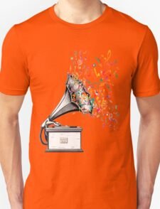 Music for my ears retro style Unisex T-Shirt