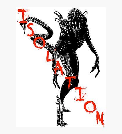 """NEW* ALIEN: ISOLATION MERCHANDISE... """"ISOLATION"""" Photographic Print"""