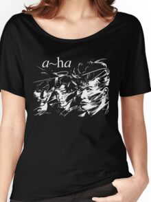 A-ha Band Women's Relaxed Fit T-Shirt