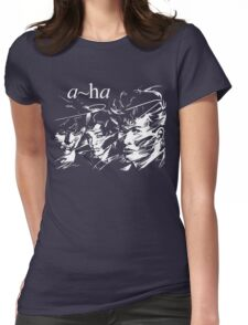 A-ha Band Womens Fitted T-Shirt