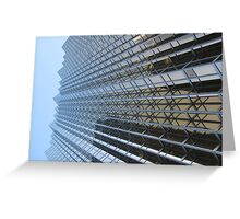 Sharp, High, Skyscraper, Downtown, Toronto, Canada Greeting Card