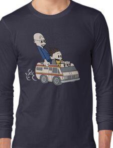 Breaking Bad Calvin And Hobbes Long Sleeve T-Shirt